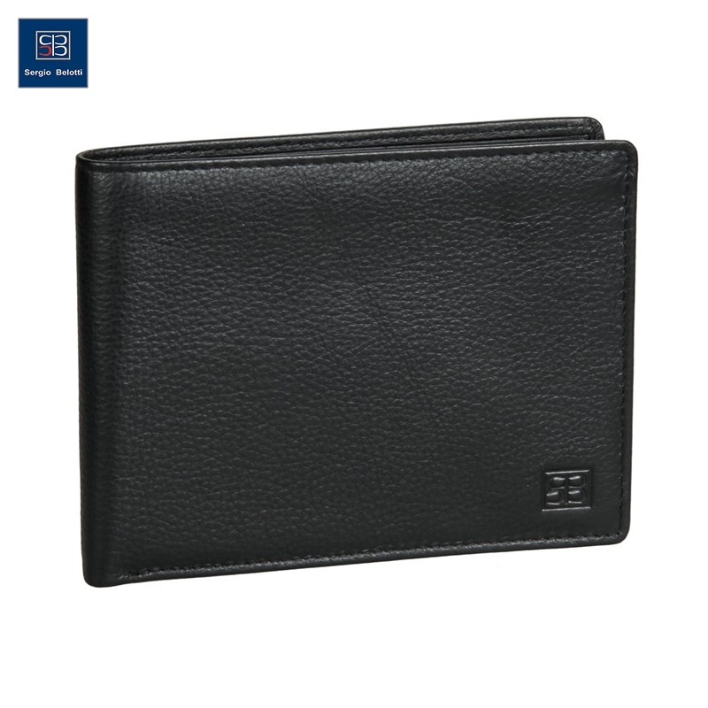 Coin Purse Sergio Belotti 396-02 denim black new fashion purse wallet female famous brand card holders cellphone pocket gifts for women money bag clutch coin purse ladies