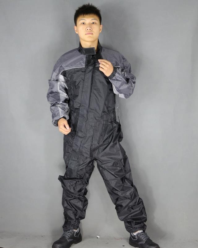 Imperméable à l'eau joint imperméables moto vélo salopette imperméable hommes combinaison pluie costume femmes bande réfléchissante vêtements de pluie CW233