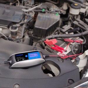 Image 5 - 6V 12V 0.8A 4A skuter motocyklowy inteligentna ładowarka do akumulatora z szybkozłączem SAE, uniwersalna ładowarka AGM EFB WET