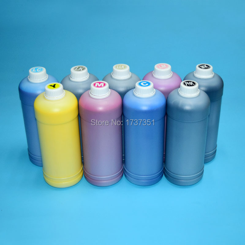 1000ml PC Printing Pigment Ink for Epson P6000 P7000 P8000 P9000 Printer Cartridge T8041 T8049 T8241 T8049 T8341 T8349 in Ink Refill Kits from Computer Office