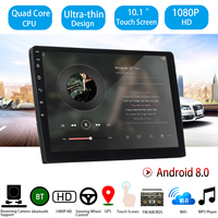 10.1'' Car Multimedia Player Android 8 Car Stereo 2DIN bluetooth WIFI GPS Nav Quad Core Radio Video Aoto MP5 Player