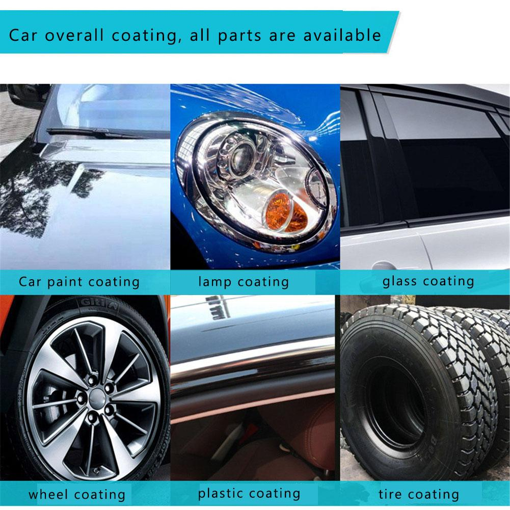 Image 5 - Liquid Ceramic Spray Coating Car Polish Spray Sealant Top Coat Quick Nano Coating 260ML Car Spray Wax Car Cleaning Dropshipping-in Paint Protective Foil from Automobiles & Motorcycles