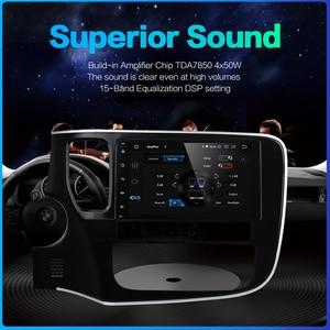 "Image 5 - Dasaita 8 ""1 Din Android 10.0 araba radyo çalar için Mitsubishi Outlander 2015 2016 2017 navigasyon GPS 12V 4GB RAM HDMI MAX10"