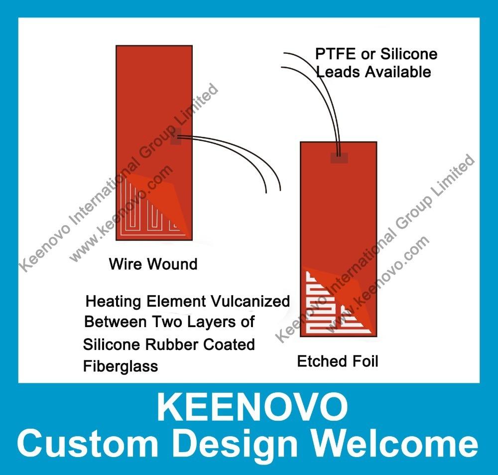 Calentador de silicona flexible de diseño personalizado Keenovo / - Bienes para el hogar