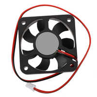 50mm x 50mm x 10mm 5010 DC 12V 0.1A 2Pin Brushless Cooling Fan