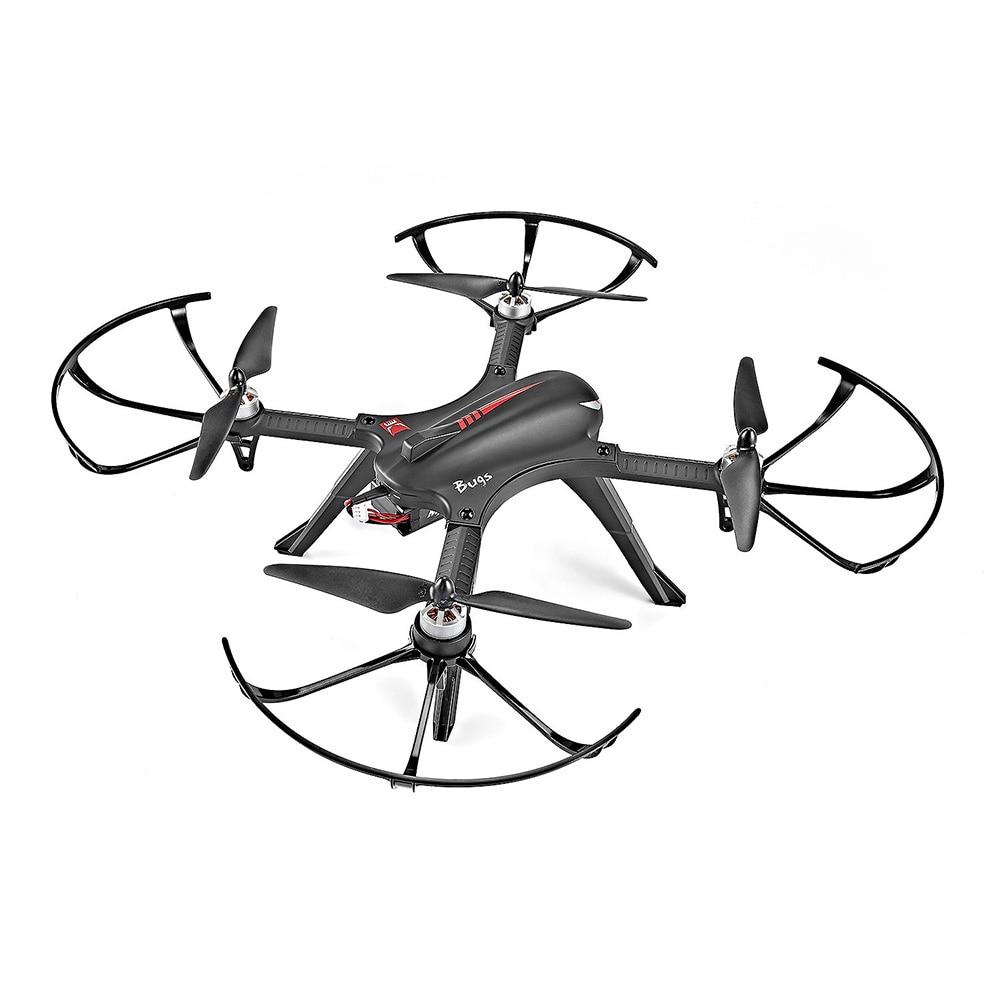 MJX B3 Bugs 3 Радиоуправляемый Дрон вертолет Квадрокоптер Бесщеточный 2,4G мини Дрон с креплением для камеры 4k Gyro Drone Профессиональный вертолет - 5