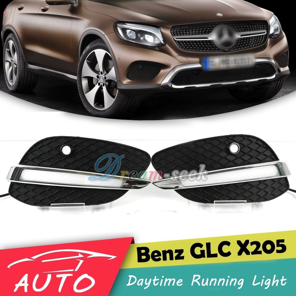 For Mercedes Benz GLC Class 2015 2016 2017 2018 2019 LED
