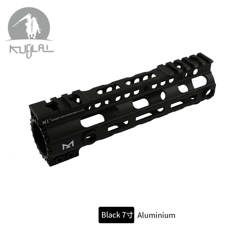 AR 15 M4 Ultra lightweight Free Float MI Handguard Airsoft Tactical Picatinny Rail Base Forend Scope