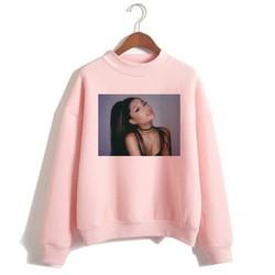 Ariana Grande Sweatshirt 2019 No Tears Left To Cry Hoodie Women Print God Is A Woman Sweatshirts Pullover hoodies Harajuku 5