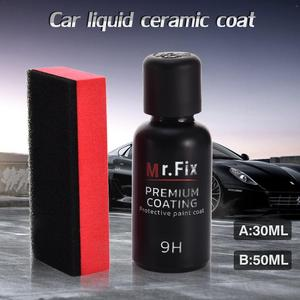 Image 4 - Mr. Fix 30ML 50ML Upgraded 9H Ceramic Coat Car Polish Liquid Crystal Set High Density Car Super Hydrophobic GLass Coating