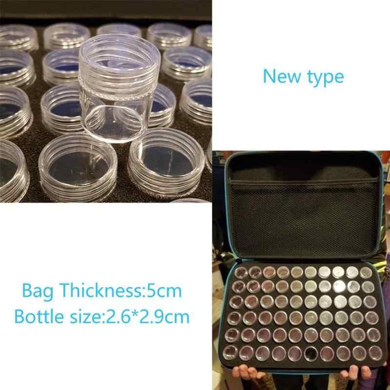 60 бутылок коробка для алмазной живописи контейнер для вышивки крестиком ящик для хранения инструмента Сумочка алмазная живопись вышивка крестиком инструмент