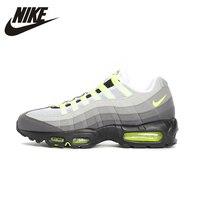 Оригинальный Nike Air Max 95 Og Мужская беговая Обувь сетчатая дышащая стабильность поддержка спортивные кроссовки 554970
