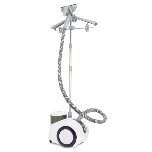 Отпариватель для одежды MYSTERY MGS-4002 grey (Мощность 1750 Вт, резервуар для воды 1.8 л, производительность 40 мл/мин, Регулировка подачи пара 4 режима, время непрерывной работы 30 минут)