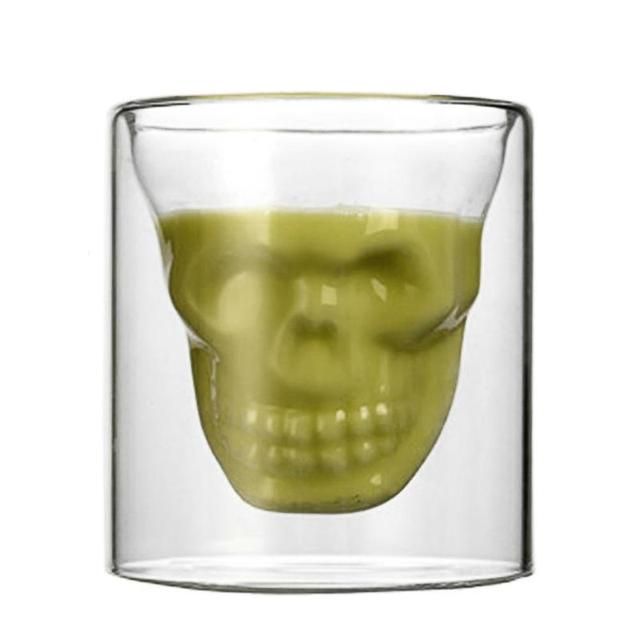 Glass Cup for Beer, Wine, Whiskey. Home Bar Halloween Tableware