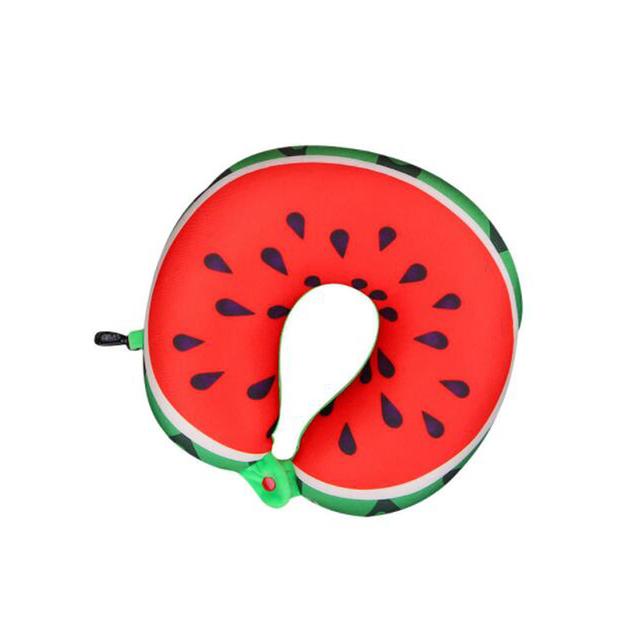 Almohada Pintada de Fruta en Forma de U
