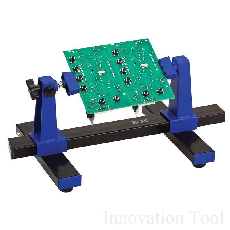 SN-390 Adjustable Printed Circuit Board Holder Frame PCB Soldering And Assembly Stand Clamp Fixture Jig Tool 360 Degree Rotation(China)