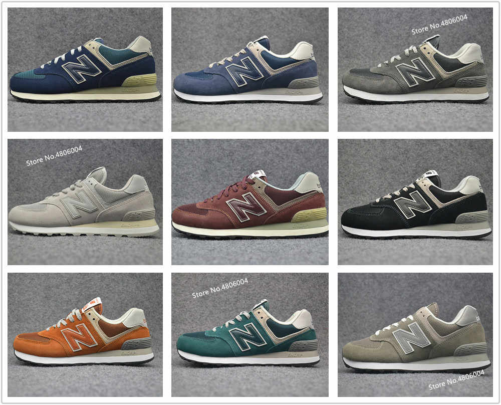 New Balance 574 NB574 classic running shoes men women sport