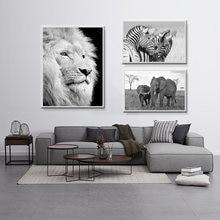 Highland корова холст живопись Африканские животные настенное