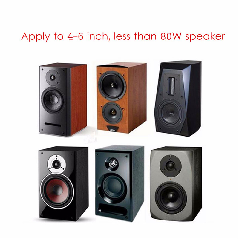 Image 5 - LEORY weah D224 Speaker Frequency Divider 2 Way Treble Bass Bookshelf Speaker Sound Stereo Crossover Module-in Speaker Accessories from Consumer Electronics
