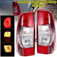 1Pair Car Taillights For Isuzu Rodeo DMax Pickup 2007 2008 2009 2010 2011 2012 Tail Lights Rear Fog Brake Side Driving Lamp Drl