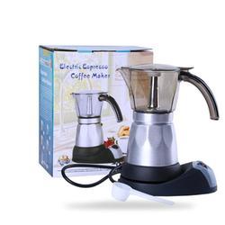 Adoolla 480W Mini elektryczny ekspres do kawy ekspres do kawy garnek do kawy dla 5 osób domowe urządzenia kuchenne w Ekspresy do kawy od AGD na