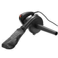 220V 750W 6 Speed Electric Air Blower Vacuum Blowing Dust Collector Hand leaf Blower Car Computer Cleaner 1.16m Cable Suck Dust
