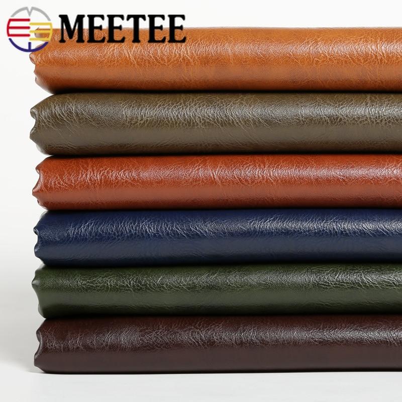 Meetee 50x138CM Artificial Leather Handmade DIY Sofa Soft Bag Car Furniture Waterproof Seat PU Imitation Leather Craft AP522