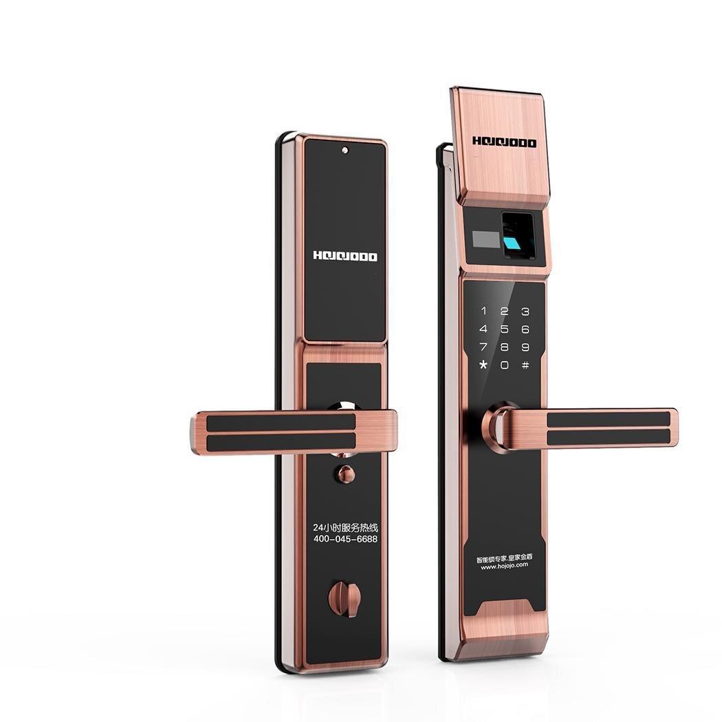Умная электроника домашний Умный Замок цифровой биометрический дверной замок сенсорный пароль Противоугонная Домашняя безопасность ручк