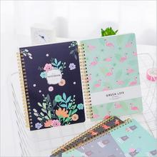New arrivals notebook A5 Forest animal Various styles Coil book Diary 60 sheets Stationery Office accessories School Supplies concise a5 spiral binding 60 page notepad coil notebook stationery office school supplies