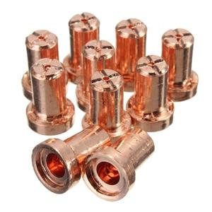 Image 4 - 40 pces consumíveis do cortador do plasma do ar estendem a estação de solda cabida do ferro de solda para PT 31 LG 40 corte da tocha 40 50