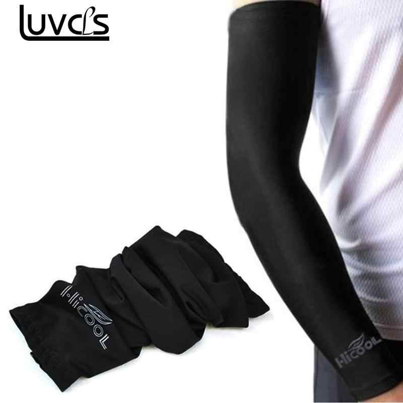 c34c876244 LUVCLS 1pc Sunscreen Cuff Bike Cycling Arm Warmers Arm Sleeve Bicycle Cuff  Sleeves Uv Sun Protection