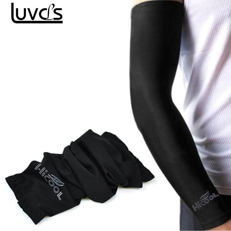LUVCLS 1pc Sunscreen Cuff Bike Cycling Arm Warmers Arm Sleeve Bicycle Cuff Sleeves Uv Sun Protection Arm Sun Block Sleeves