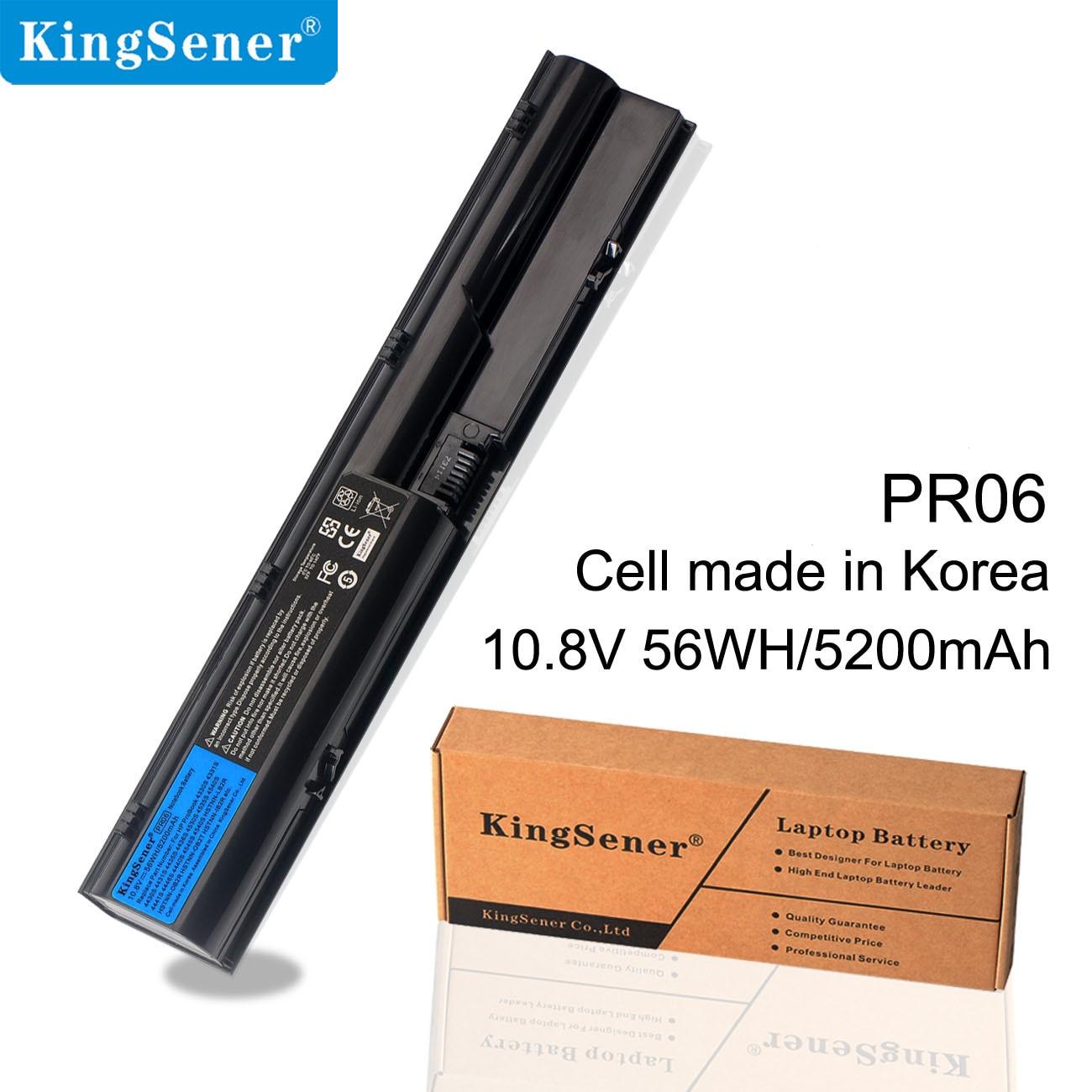KingSener PR06 PR09 Laptop Battery For HP ProBook 4330S 4331S 4530S 4540S 4535S 4430S 4435S 4436S HSTNN-OB2T HSTNN-LB2R /DB2R