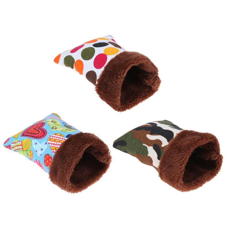 Warm Plush Pet Dog House Hammock Hanging Tree Beds Arched Shape Puppy Dog Cat Living Nest House for Rat Hamster Squirrel thumbnail