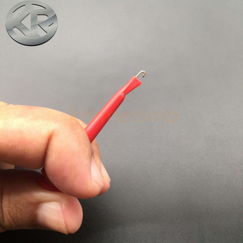 Мини-зажим мини-захват крюк SMD захват крюк POMONA 5418 позолоченный тестовый крюк