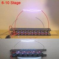 10 Stage Marx Generator Tesla Arc Pulse Generator Lightning DIY Kit for ZVS Flyback Driver Board /ignition coil
