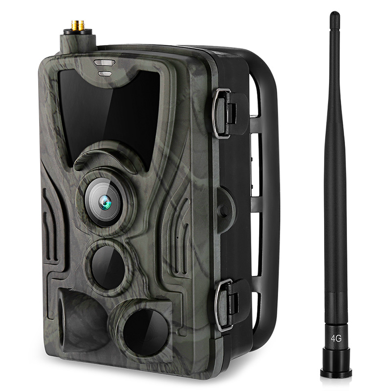 HC-801LTE 3G / 4G Night Vision Hunting Camera SMS/MMS/SMTP 16MP HD 1080P Wildlife Camera Photo Trap Camera Hunting Trail Cameras