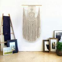 50*120cm Handmade Macrame Hanging Decorations Bohemian Handwork wall tapestry living room bedroom wall decoration