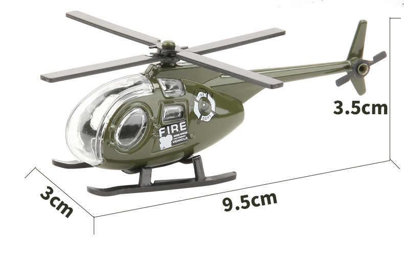 1:50 Alloy dan Abs Militer Model Simulasi Mobil Tank Racing Helikopter Kendaraan Lapis Baja Diecasts Hadiah Ulang Tahun Mainan untuk Anak-anak