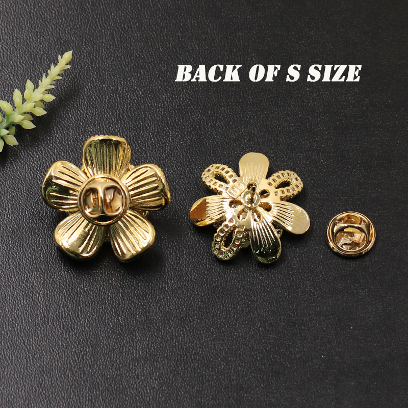 Lanyika Fashion Jewelry Graceful Lucky Flower Micro Paved Brooch Pin for Engagement Banquet Party Luxury Bridal Best Gift in Brooches from Jewelry Accessories