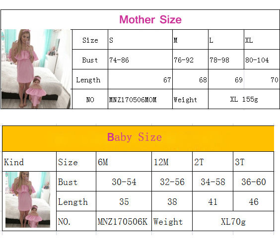 b3ade1f0c 2 Pcs pudcoco mother daughter dresses Solid Fashion for mommy me clothes  family mom baby elegant dress matching outfits summer-in Matching Family  Outfits ...