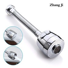 Zhangji Extend Faucet Sprayer Diffuser for Kitchen Sink Rotate 2-Mode 360 degrees Handle Aerator Nozzle Filter
