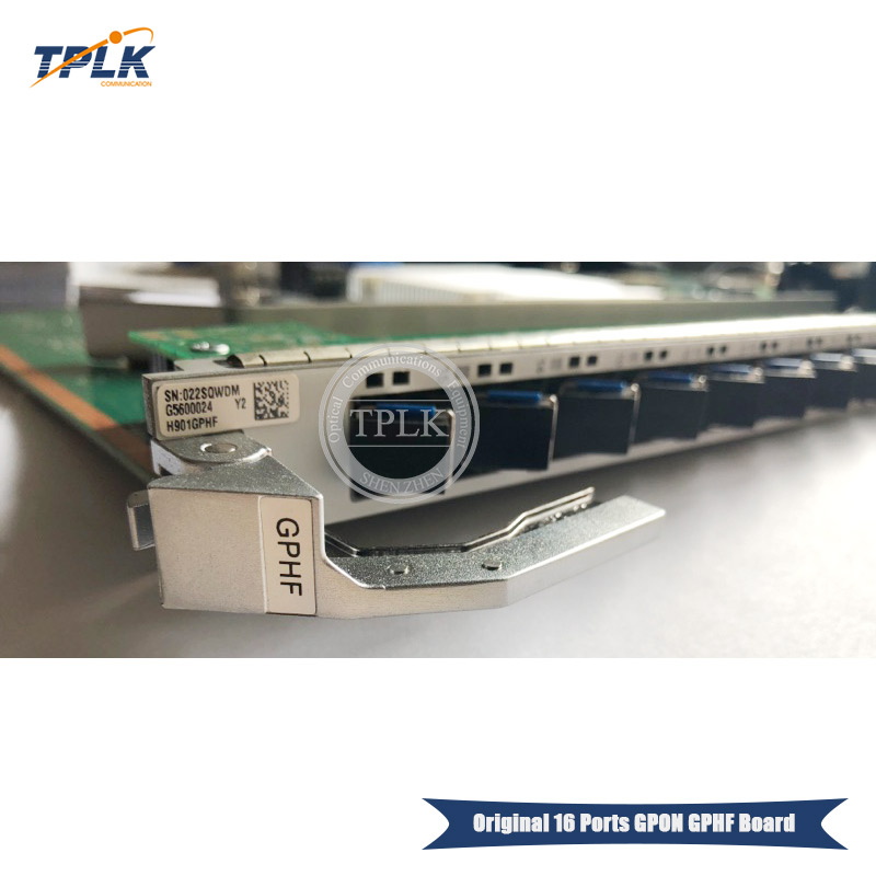 100 brand new GPHF C service board 16 Ports 1GE GPON Board H901GPHF with 16 Gigabit