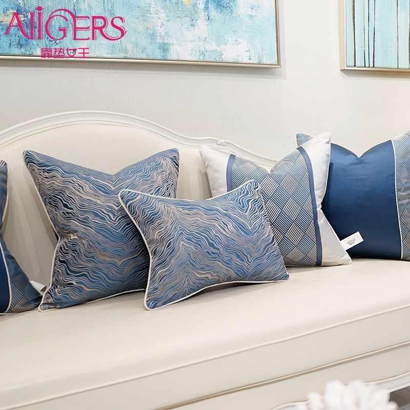 Avigers Kualitas Tinggi Sofa Bantal Cover Presisi Tinggi Jacquard Dekorasi Rumah Coussin Bantal Rumah Bantal Mewah Kasus