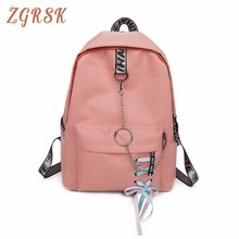 Mochila Mujer Woman Canvas Bag Both Shoulders Backpacks Large Capacity Student Female School Backpack Bags For Teenage Girls