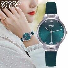 CCQ Women Dress Watches Casual Luxury Leather Analog Quartz