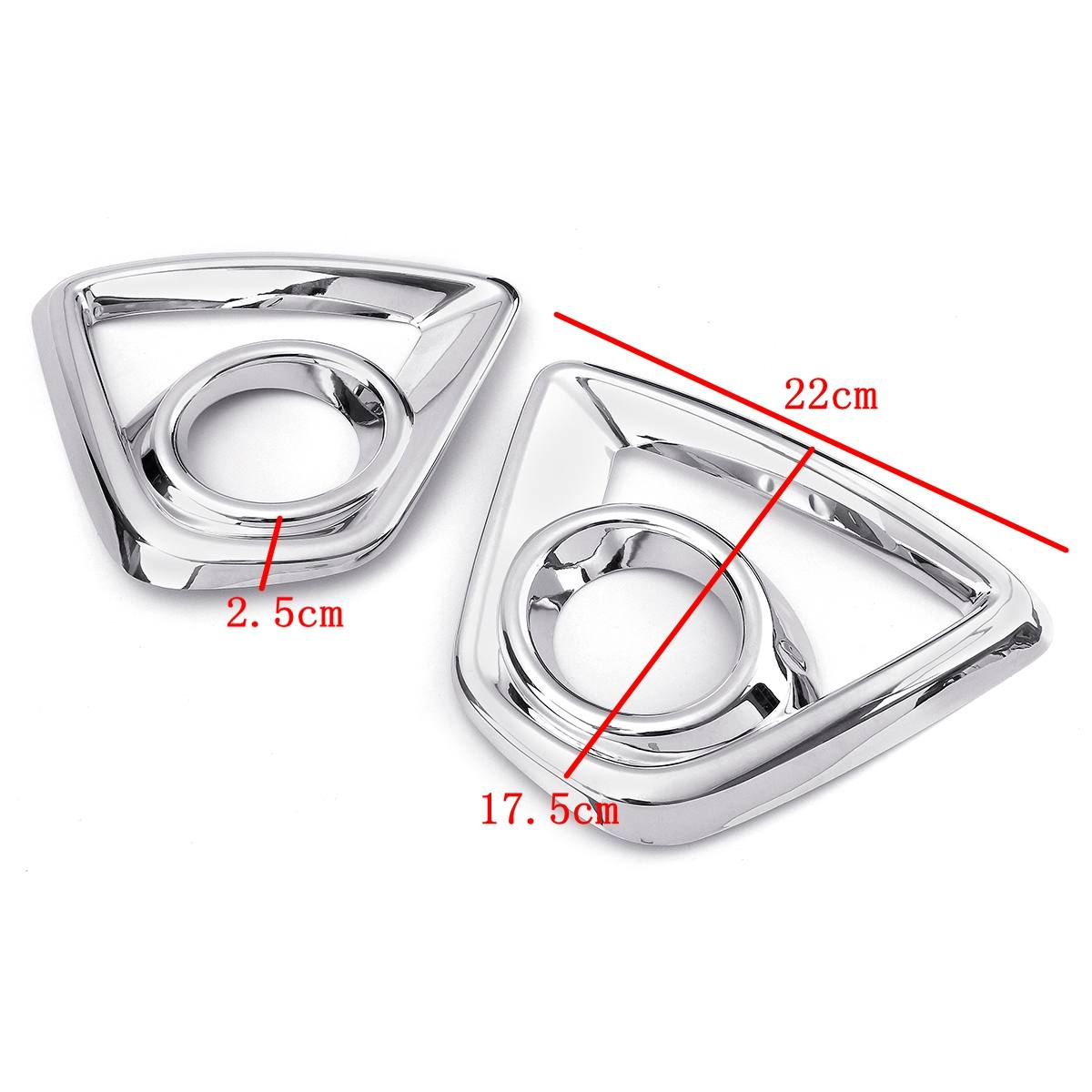 Image 5 - Bumper Fog light Chrome Garnish For Mazda Cx 5 Cx5  2013 2014 2015 2016 Car Rear Tail Lights Lamp Shade Frame Trim Cover Styling-in Chromium Styling from Automobiles & Motorcycles