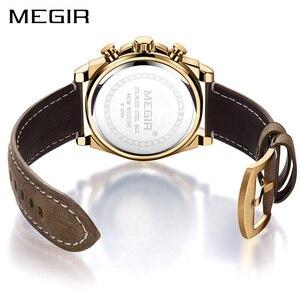 Image 3 - Relojes 2020 MEGIR zegarek mężczyźni moda Sport zegar kwarcowy męskie zegarki Top marka luksusowy wodoodporny zegarek godzina Relogio Masculino