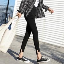 дешево!  Loyalget 2019 новые черные женские брюки-карандаш случайные эластичные талии узкие брюки плюс размер Лучш�