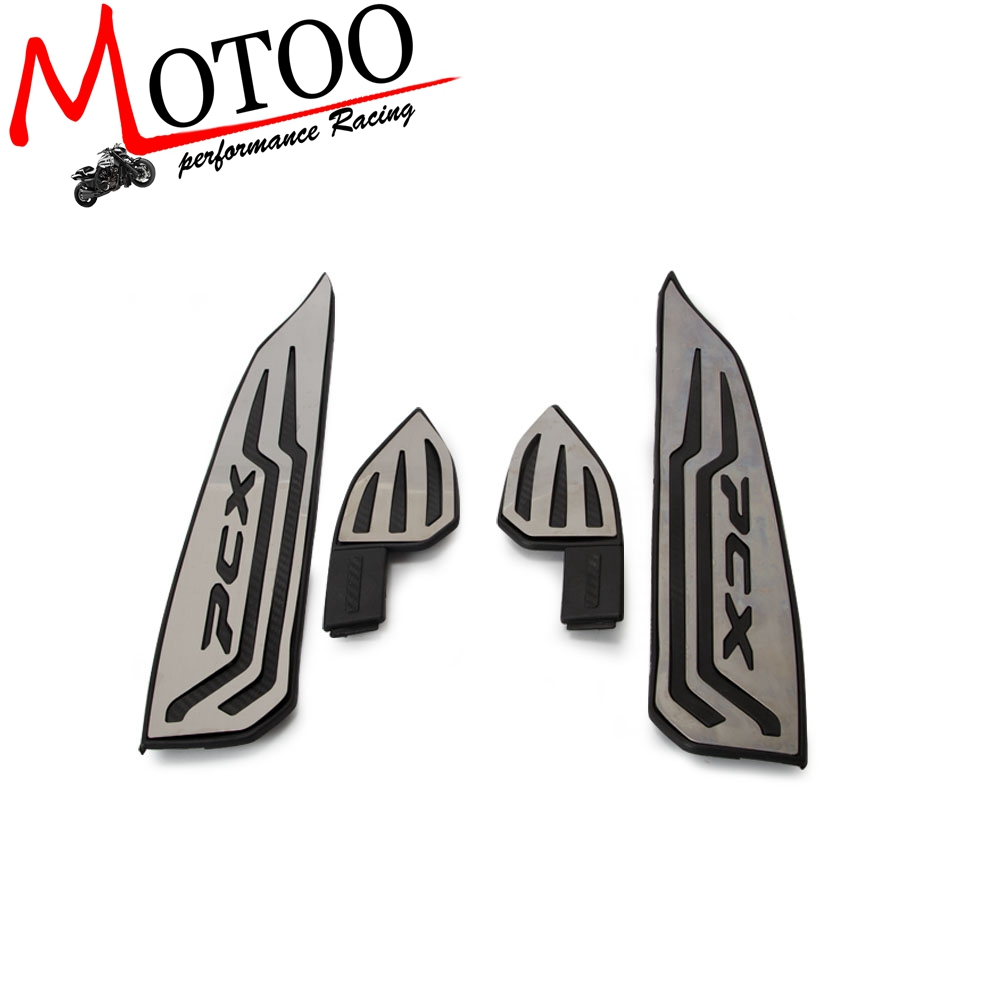 For Honda pcx 125 150 17 18 Motorcycle Modified Aluminum alloy parts PCX125 150 pcx footrests foot rest mats pads